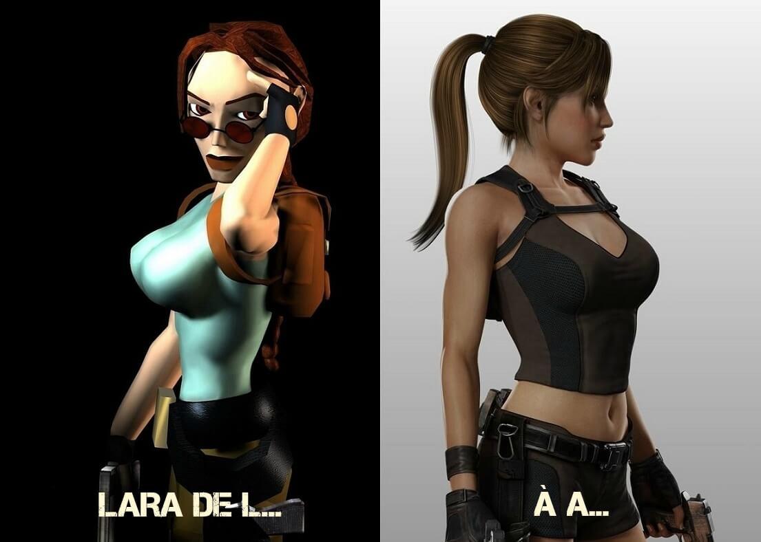 Lara Croft Gros Seins
